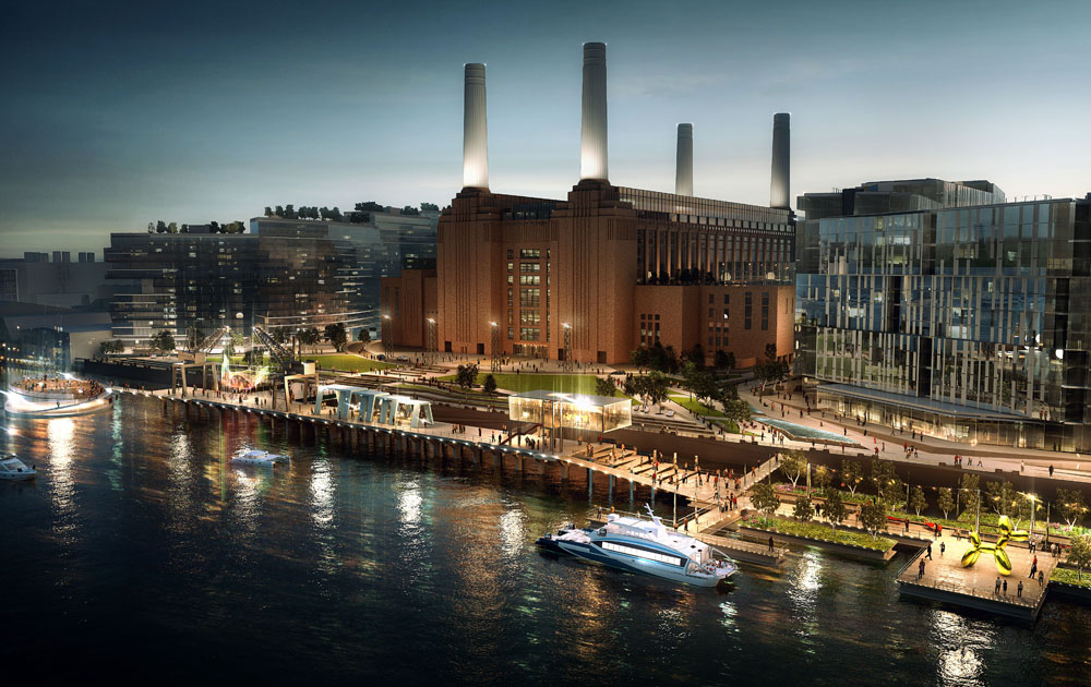 Battersea Power Station - Adaptive Reuse Architecture