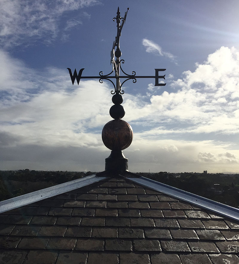 Pentridge restored Weathervane