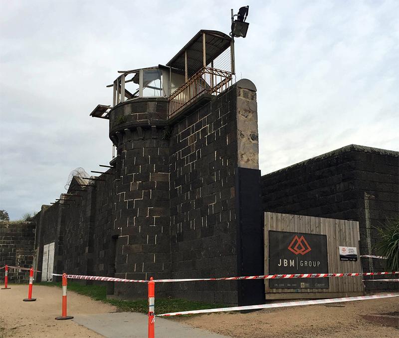 Pentridge Guard Tower Restoration