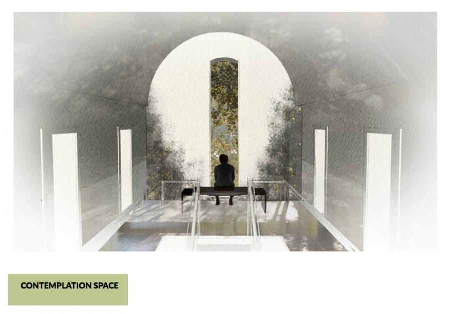 Contemplation Space - Concept by Jasmin Wong